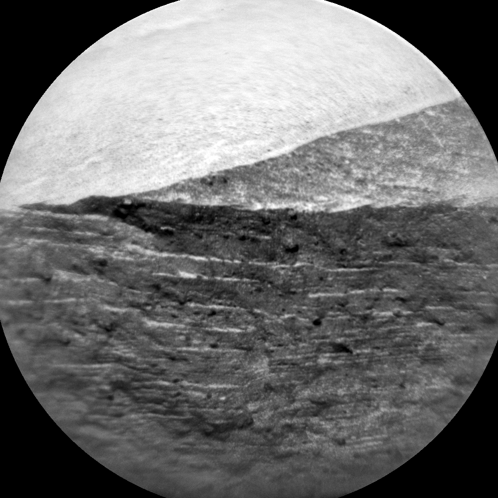 Nasa's Mars rover Curiosity acquired this image using its Chemistry & Camera (ChemCam) on Sol 581, at drive 740, site number 30