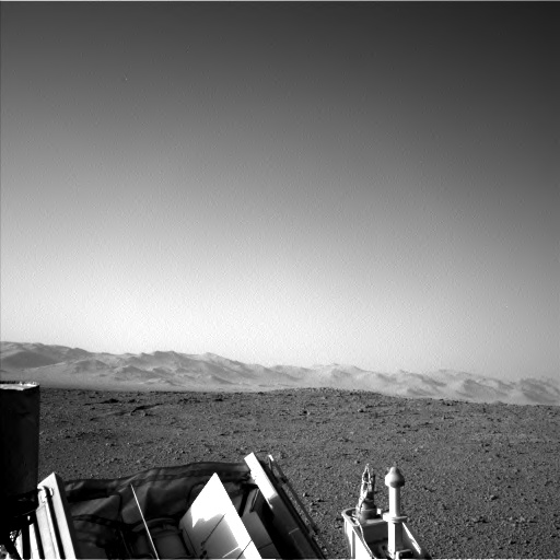 Nasa's Mars rover Curiosity acquired this image using its Left Navigation Camera on Sol 582, at drive 786, site number 30