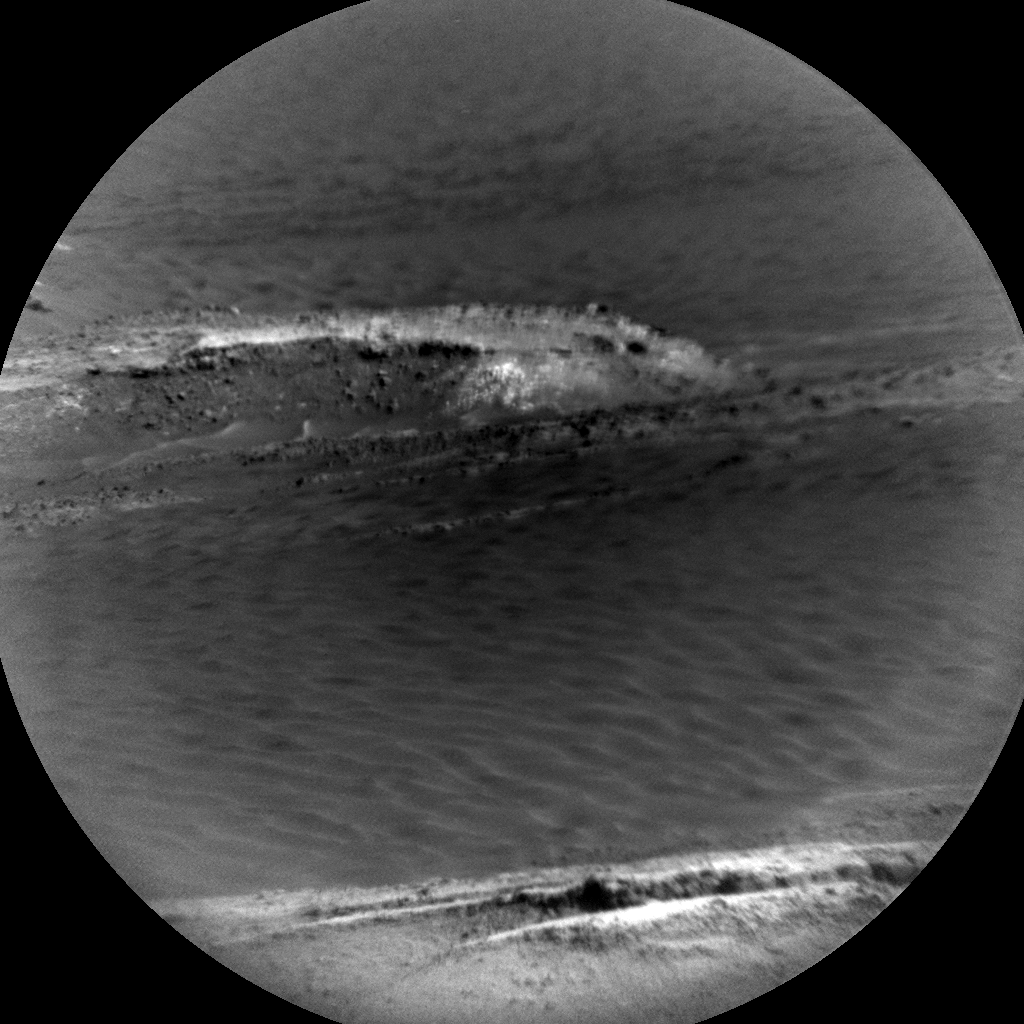 Nasa's Mars rover Curiosity acquired this image using its Chemistry & Camera (ChemCam) on Sol 582, at drive 786, site number 30