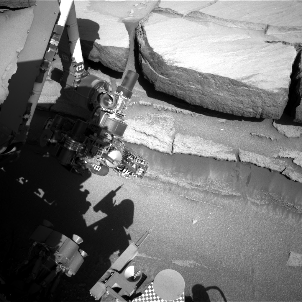 Nasa's Mars rover Curiosity acquired this image using its Right Navigation Camera on Sol 584, at drive 786, site number 30