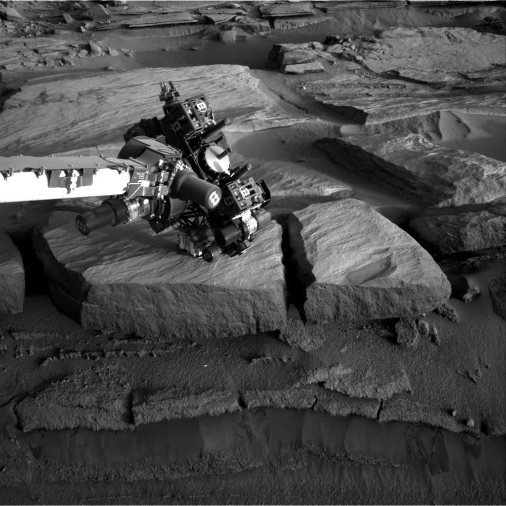Nasa's Mars rover Curiosity acquired this image using its Right Navigation Camera on Sol 585, at drive 786, site number 30