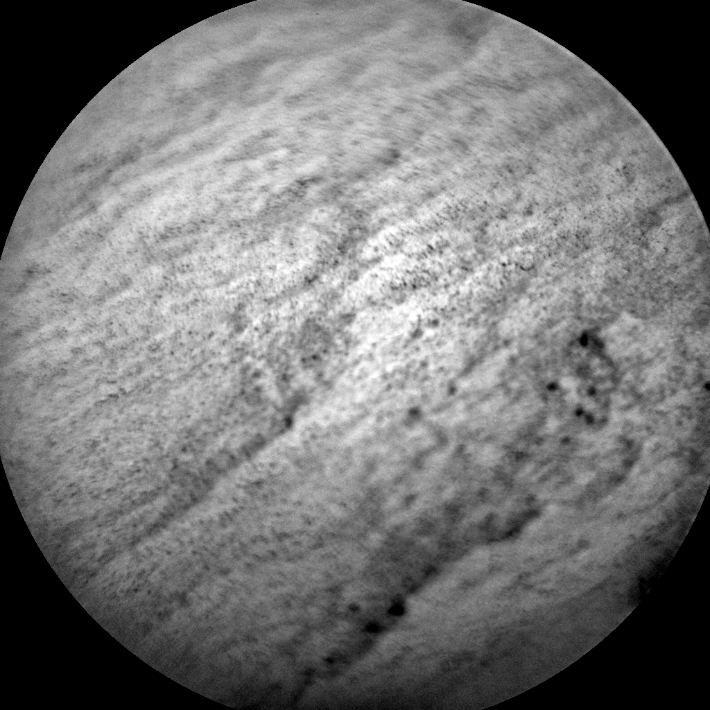 Nasa's Mars rover Curiosity acquired this image using its Chemistry & Camera (ChemCam) on Sol 585, at drive 786, site number 30
