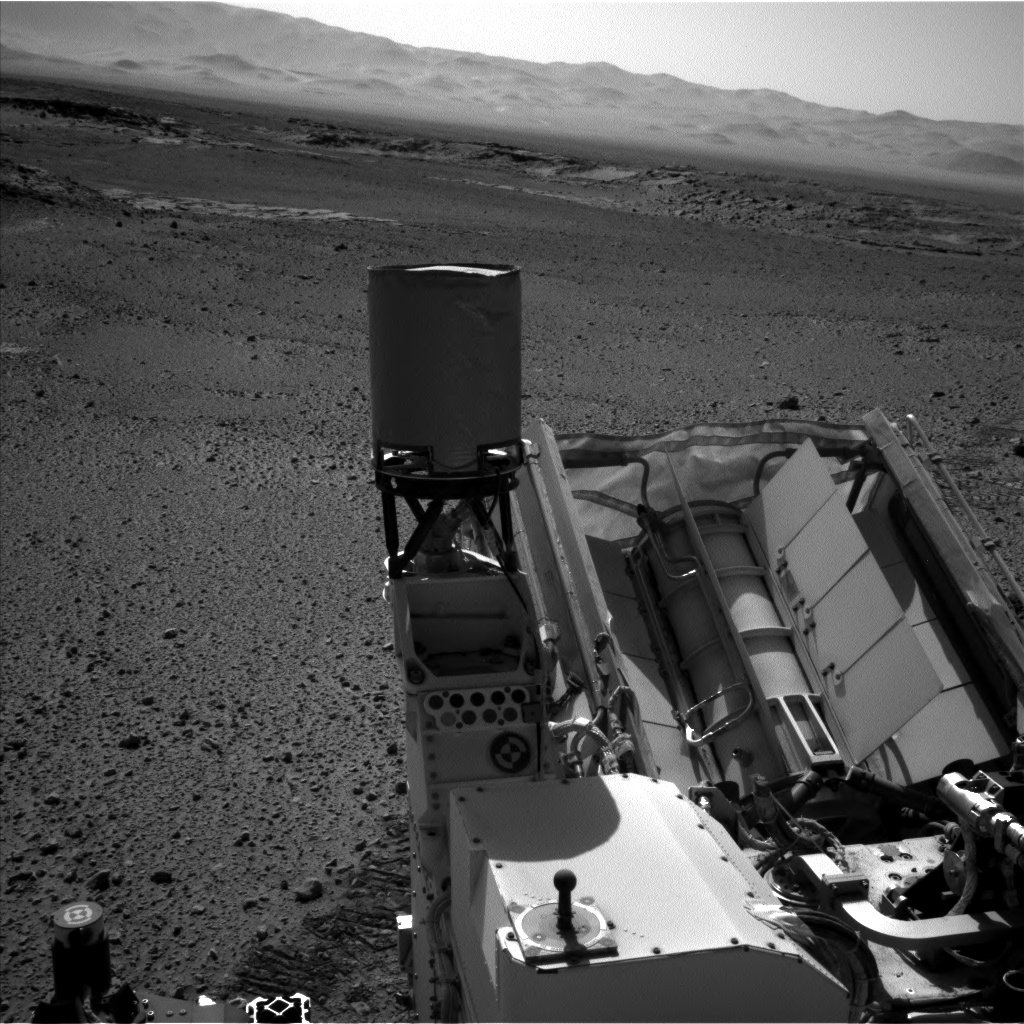 Nasa's Mars rover Curiosity acquired this image using its Left Navigation Camera on Sol 586, at drive 820, site number 30