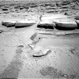 Nasa's Mars rover Curiosity acquired this image using its Right Navigation Camera on Sol 587, at drive 856, site number 30