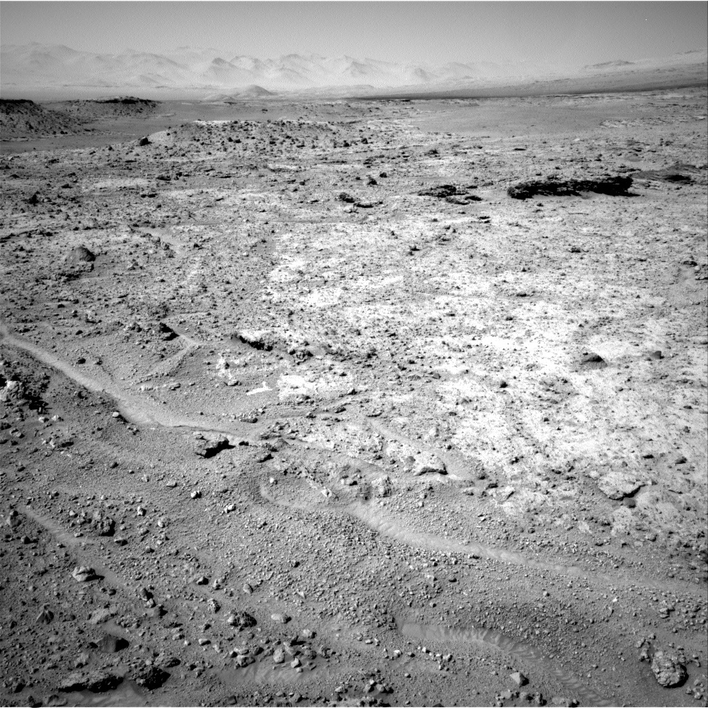 NASA's Mars rover Curiosity acquired this image using its Right Navigation Cameras (Navcams) on Sol 587