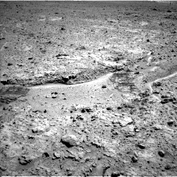 Nasa's Mars rover Curiosity acquired this image using its Left Navigation Camera on Sol 588, at drive 998, site number 30