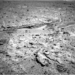 Nasa's Mars rover Curiosity acquired this image using its Left Navigation Camera on Sol 588, at drive 1004, site number 30