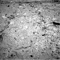 Nasa's Mars rover Curiosity acquired this image using its Left Navigation Camera on Sol 588, at drive 1046, site number 30