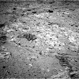 Nasa's Mars rover Curiosity acquired this image using its Left Navigation Camera on Sol 588, at drive 1106, site number 30