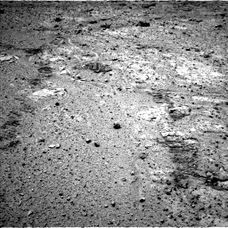 Nasa's Mars rover Curiosity acquired this image using its Left Navigation Camera on Sol 588, at drive 1118, site number 30