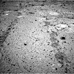 Nasa's Mars rover Curiosity acquired this image using its Left Navigation Camera on Sol 588, at drive 1136, site number 30