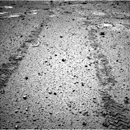 Nasa's Mars rover Curiosity acquired this image using its Left Navigation Camera on Sol 588, at drive 1154, site number 30