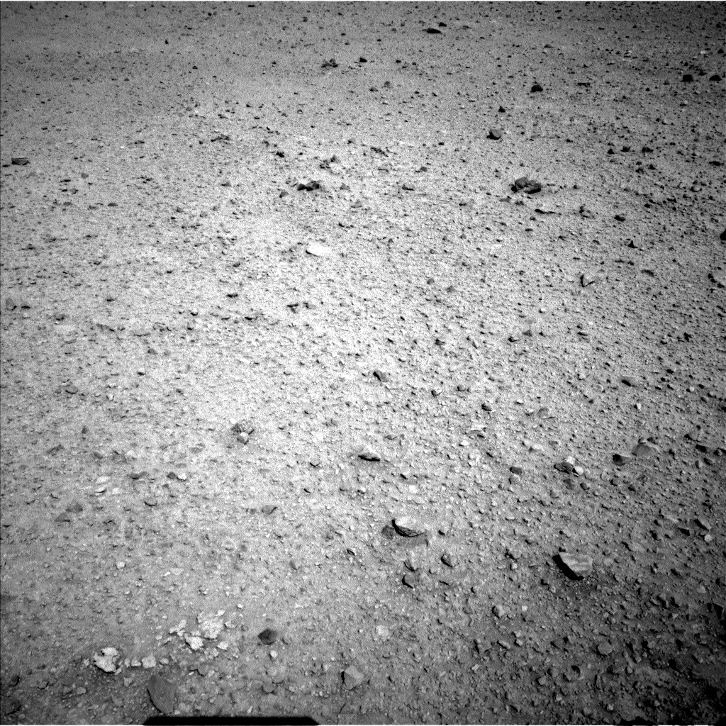 Nasa's Mars rover Curiosity acquired this image using its Left Navigation Camera on Sol 588, at drive 1208, site number 30