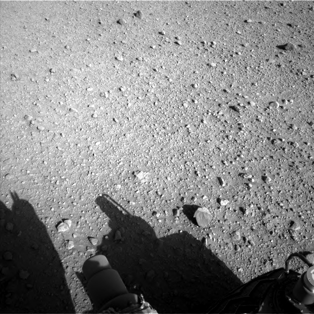 Nasa's Mars rover Curiosity acquired this image using its Left Navigation Camera on Sol 588, at drive 1254, site number 30