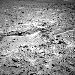 Nasa's Mars rover Curiosity acquired this image using its Right Navigation Camera on Sol 588, at drive 998, site number 30
