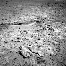 Nasa's Mars rover Curiosity acquired this image using its Right Navigation Camera on Sol 588, at drive 1004, site number 30