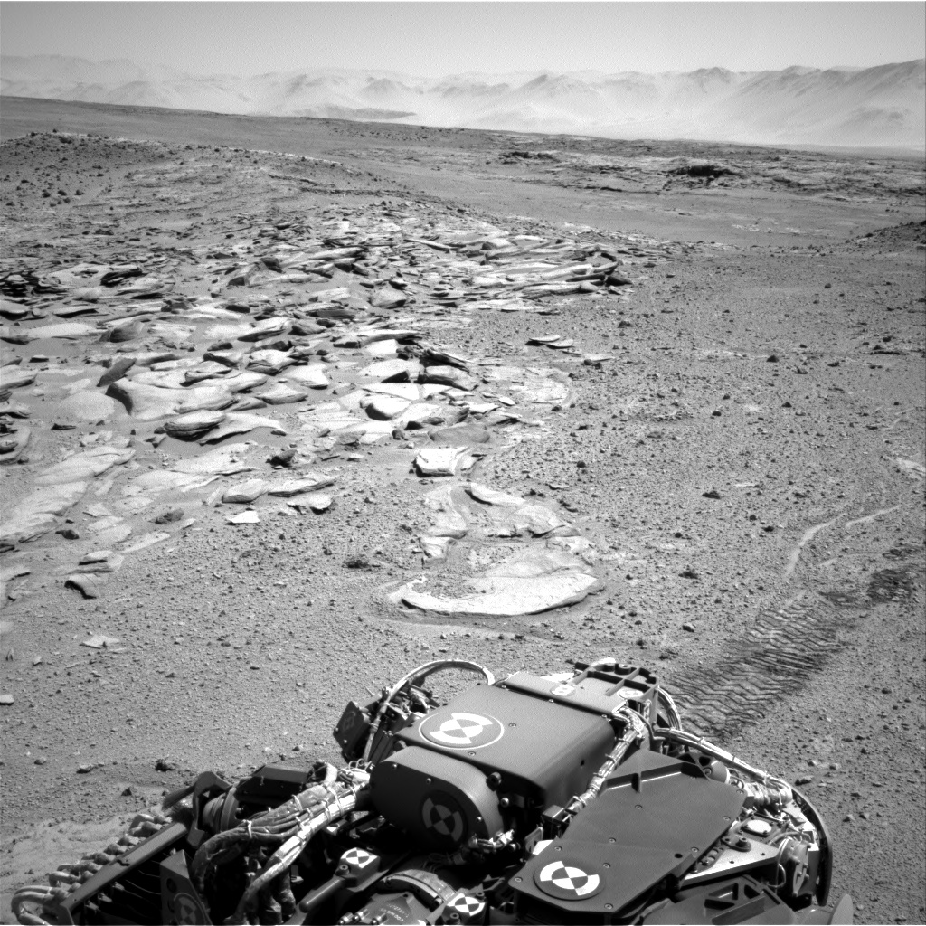 Nasa's Mars rover Curiosity acquired this image using its Right Navigation Camera on Sol 588, at drive 1070, site number 30