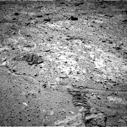 Nasa's Mars rover Curiosity acquired this image using its Right Navigation Camera on Sol 588, at drive 1106, site number 30
