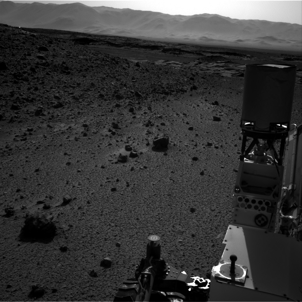 NASA's Mars rover Curiosity acquired this image using its Right Navigation Cameras (Navcams) on Sol 588