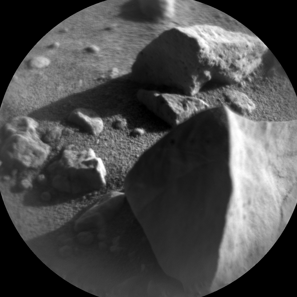 Nasa's Mars rover Curiosity acquired this image using its Chemistry & Camera (ChemCam) on Sol 588, at drive 1254, site number 30