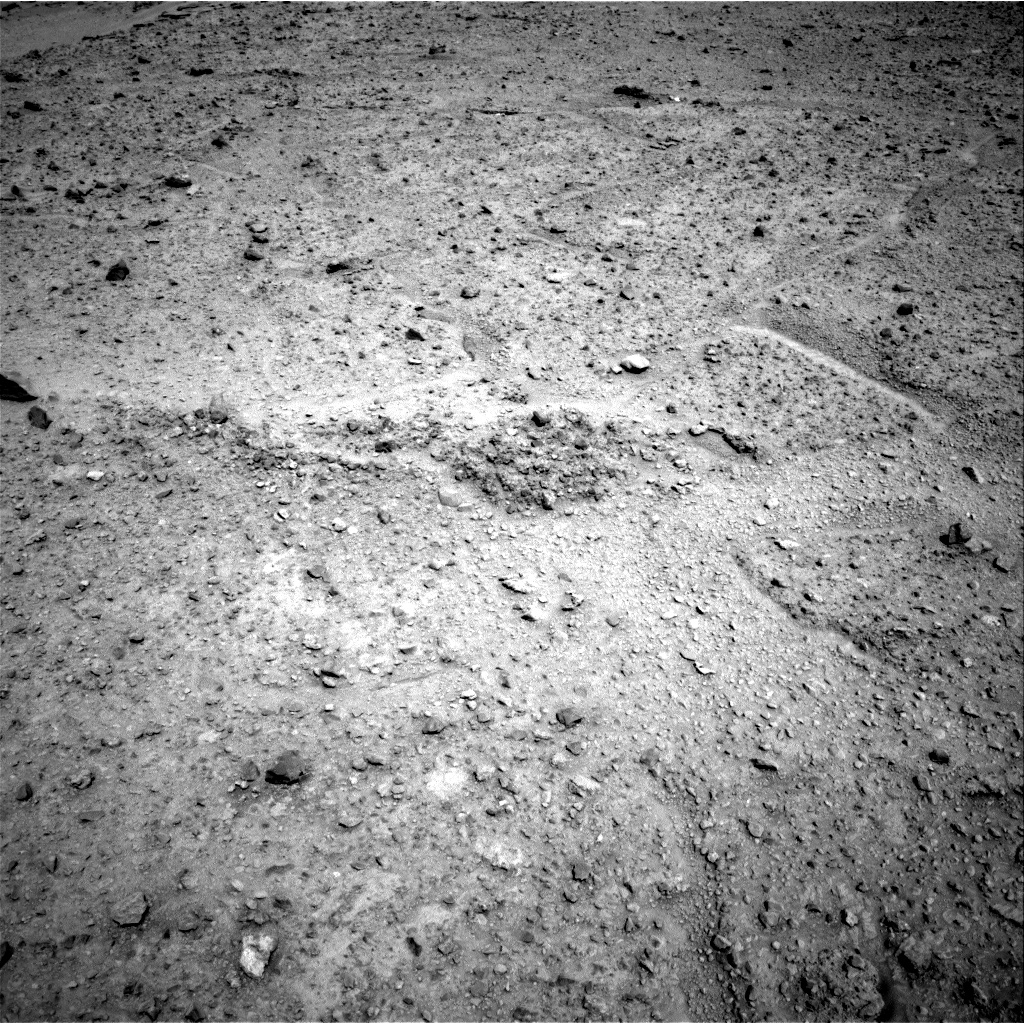 Nasa's Mars rover Curiosity acquired this image using its Right Navigation Camera on Sol 589, at drive 1338, site number 30