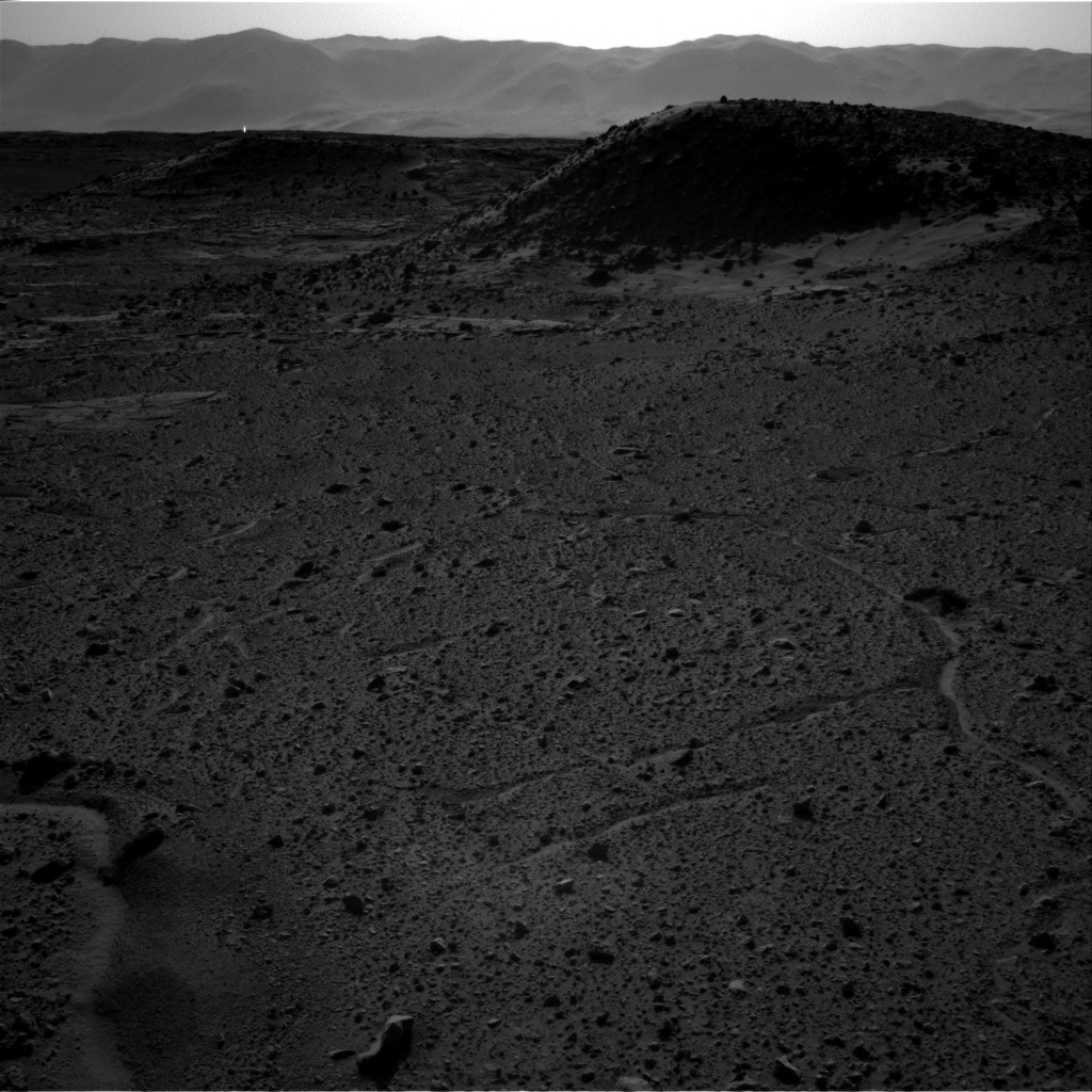 Nasa's Mars rover Curiosity acquired this image using its Right Navigation Camera on Sol 589, at drive 0, site number 31