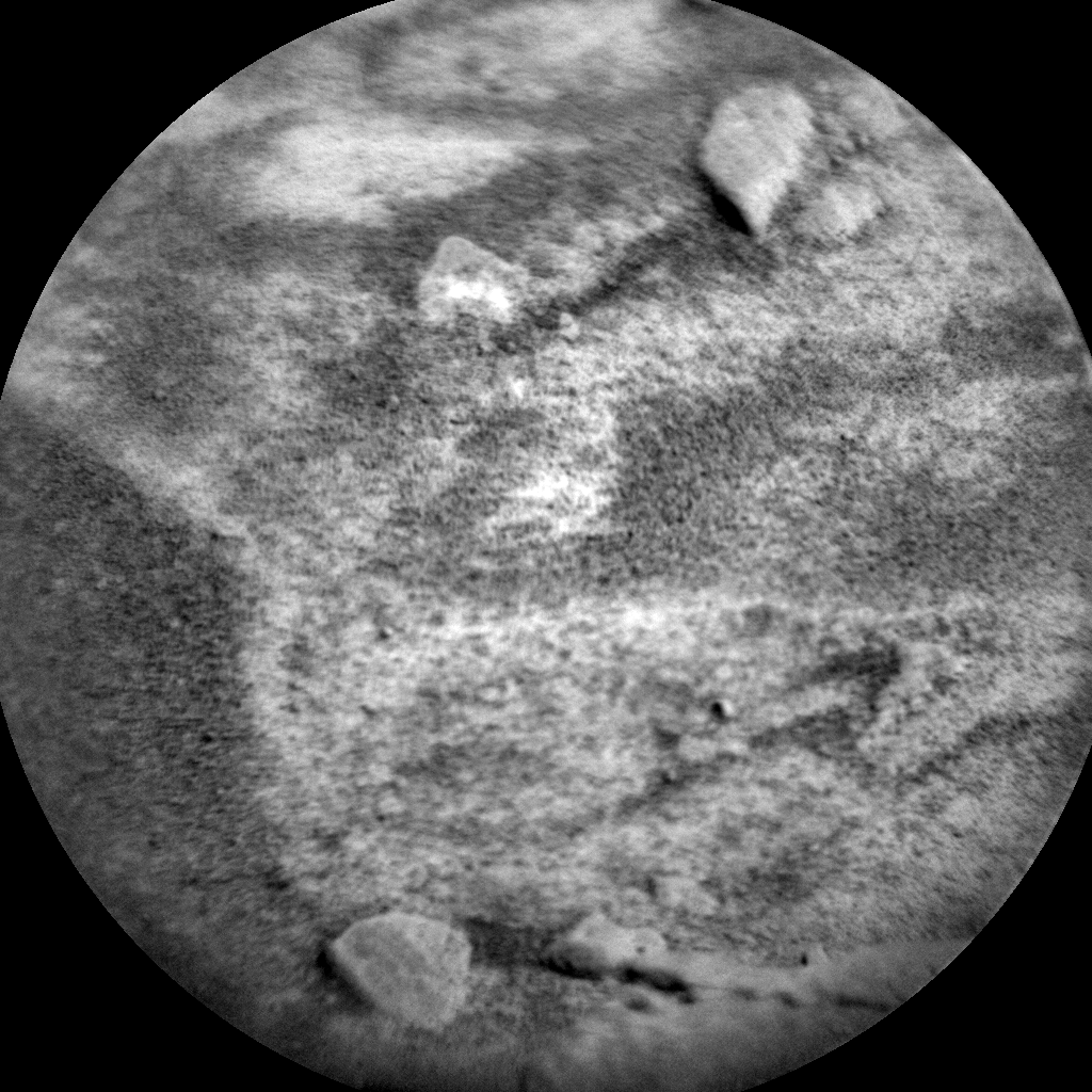Nasa's Mars rover Curiosity acquired this image using its Chemistry & Camera (ChemCam) on Sol 589, at drive 1254, site number 30