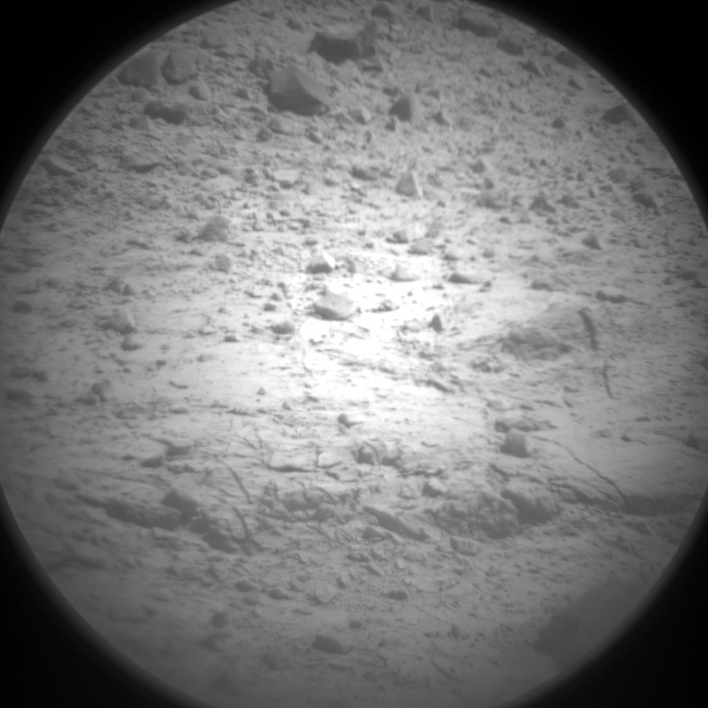 Nasa's Mars rover Curiosity acquired this image using its Chemistry & Camera (ChemCam) on Sol 590, at drive 0, site number 31
