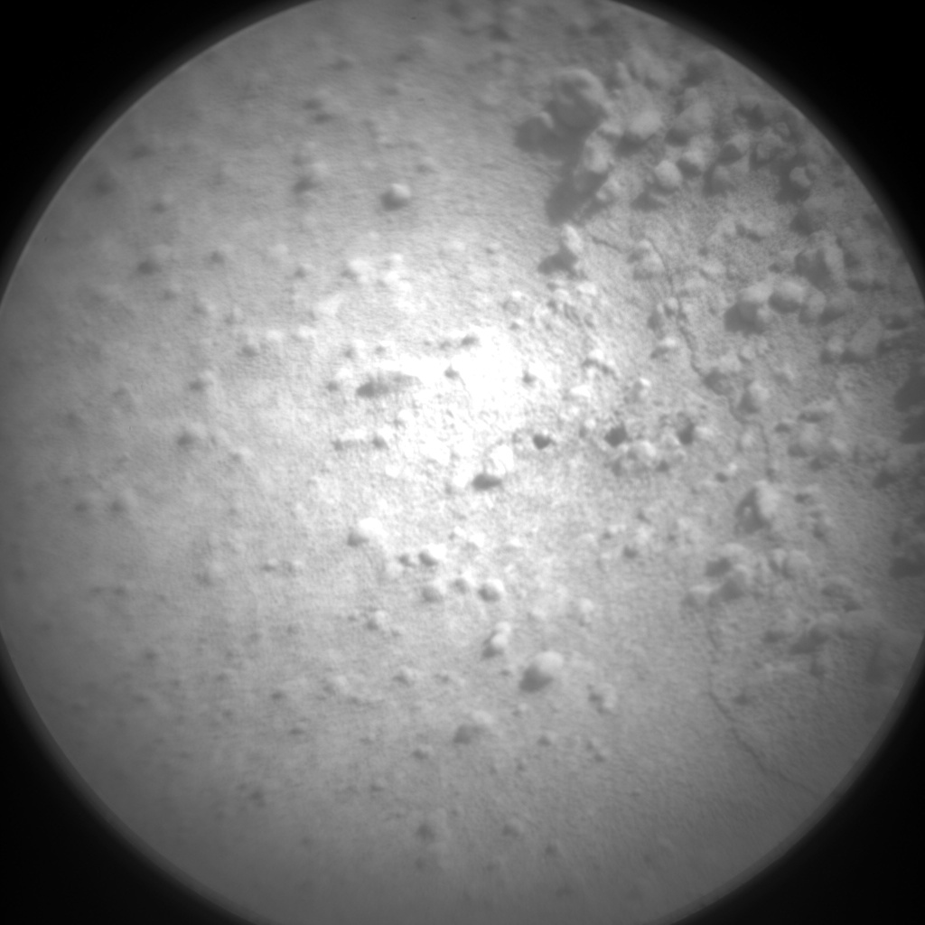 Nasa's Mars rover Curiosity acquired this image using its Chemistry & Camera (ChemCam) on Sol 592, at drive 0, site number 31