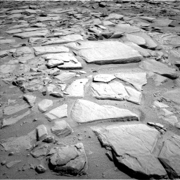 Nasa's Mars rover Curiosity acquired this image using its Left Navigation Camera on Sol 593, at drive 132, site number 31