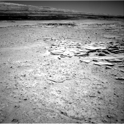 Nasa's Mars rover Curiosity acquired this image using its Right Navigation Camera on Sol 593, at drive 12, site number 31