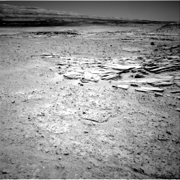 Nasa's Mars rover Curiosity acquired this image using its Right Navigation Camera on Sol 593, at drive 24, site number 31
