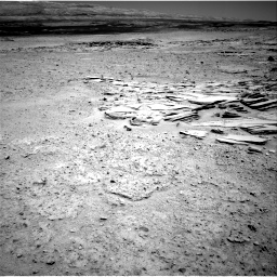 Nasa's Mars rover Curiosity acquired this image using its Right Navigation Camera on Sol 593, at drive 30, site number 31