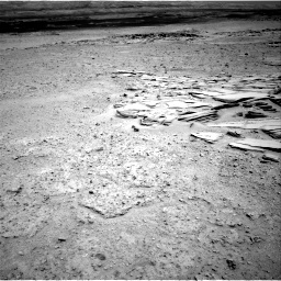 Nasa's Mars rover Curiosity acquired this image using its Right Navigation Camera on Sol 593, at drive 36, site number 31