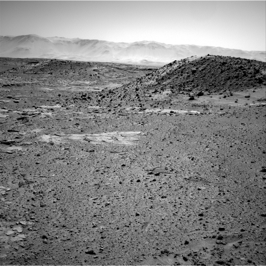 Nasa's Mars rover Curiosity acquired this image using its Right Navigation Camera on Sol 593, at drive 72, site number 31