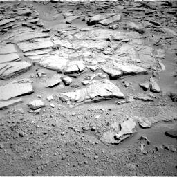 Nasa's Mars rover Curiosity acquired this image using its Right Navigation Camera on Sol 593, at drive 90, site number 31