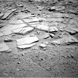 Nasa's Mars rover Curiosity acquired this image using its Right Navigation Camera on Sol 593, at drive 96, site number 31