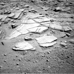 Nasa's Mars rover Curiosity acquired this image using its Right Navigation Camera on Sol 593, at drive 102, site number 31