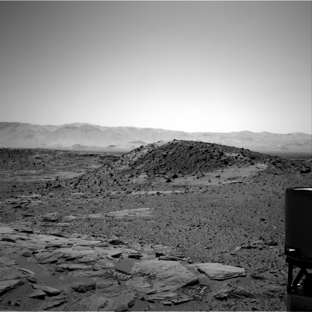 Nasa's Mars rover Curiosity acquired this image using its Right Navigation Camera on Sol 593, at drive 108, site number 31