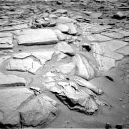 Nasa's Mars rover Curiosity acquired this image using its Right Navigation Camera on Sol 593, at drive 126, site number 31