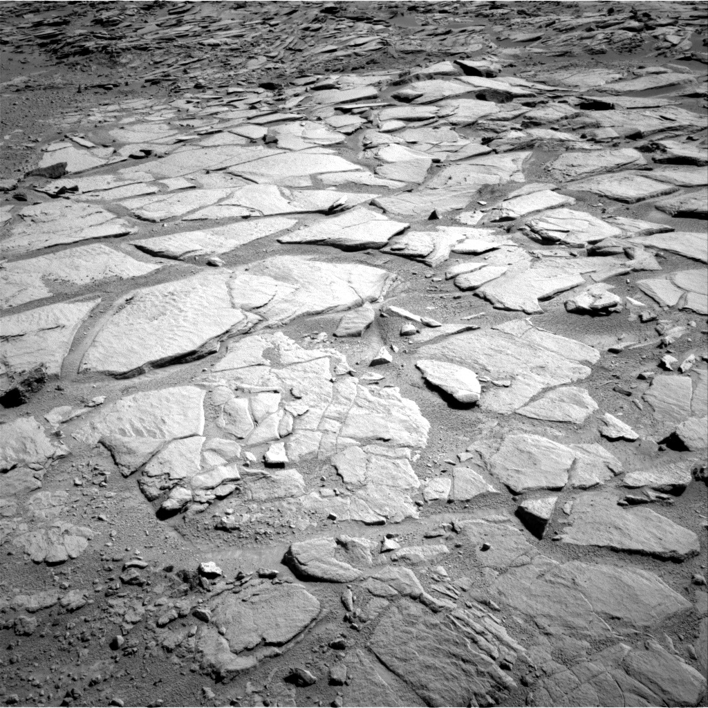 Nasa's Mars rover Curiosity acquired this image using its Right Navigation Camera on Sol 593, at drive 174, site number 31