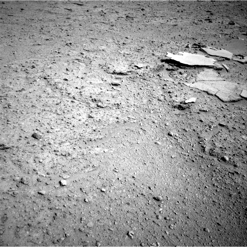 Nasa's Mars rover Curiosity acquired this image using its Right Navigation Camera on Sol 593, at drive 180, site number 31