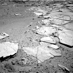 Nasa's Mars rover Curiosity acquired this image using its Right Navigation Camera on Sol 593, at drive 210, site number 31