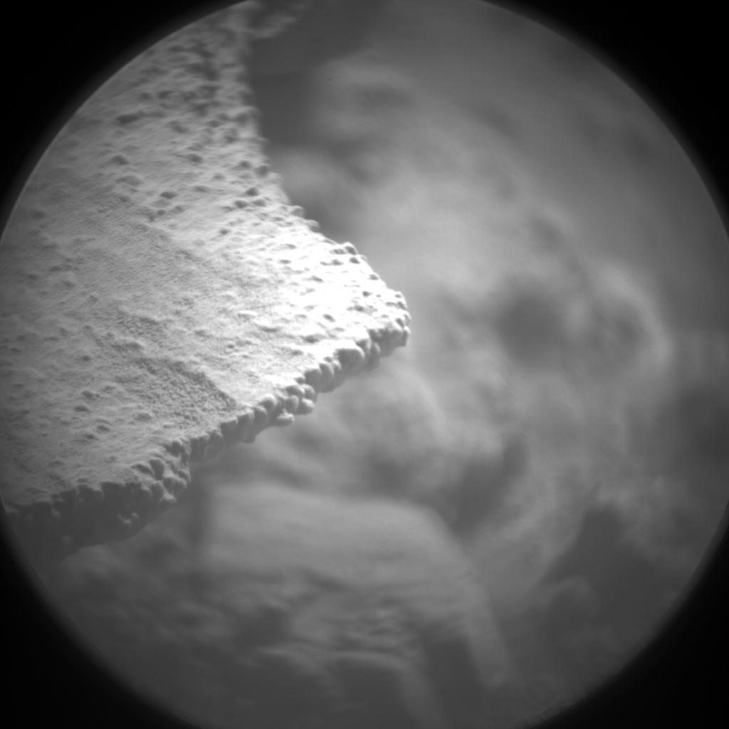 Nasa's Mars rover Curiosity acquired this image using its Chemistry & Camera (ChemCam) on Sol 594, at drive 216, site number 31