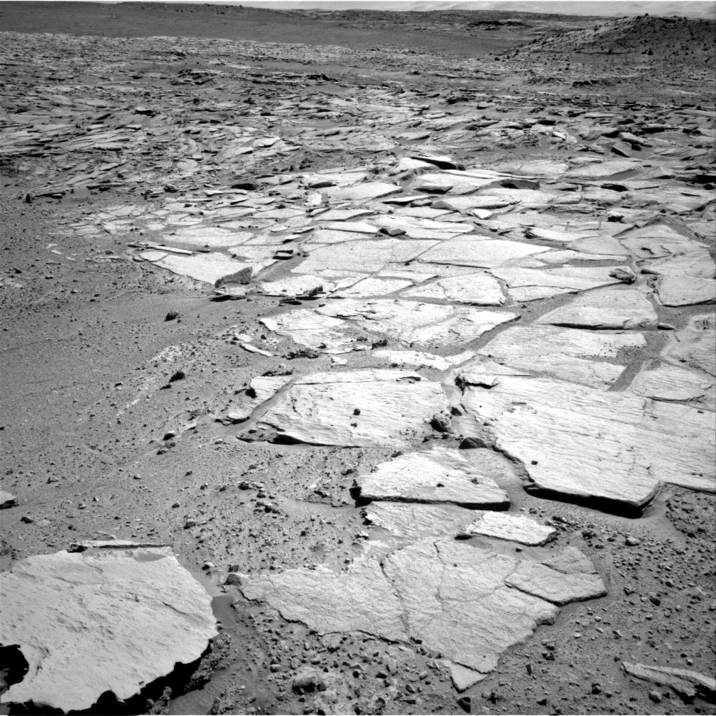 Nasa's Mars rover Curiosity acquired this image using its Right Navigation Camera on Sol 594, at drive 216, site number 31