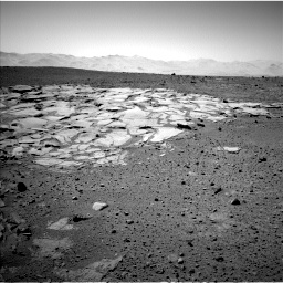 Nasa's Mars rover Curiosity acquired this image using its Left Navigation Camera on Sol 595, at drive 312, site number 31