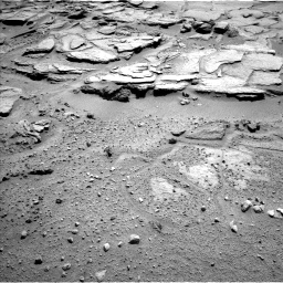 Nasa's Mars rover Curiosity acquired this image using its Left Navigation Camera on Sol 595, at drive 360, site number 31