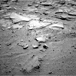 Nasa's Mars rover Curiosity acquired this image using its Left Navigation Camera on Sol 595, at drive 378, site number 31