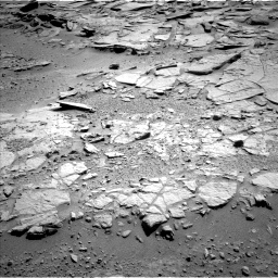 Nasa's Mars rover Curiosity acquired this image using its Left Navigation Camera on Sol 595, at drive 420, site number 31