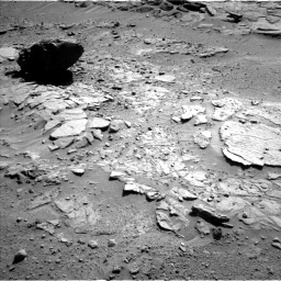 Nasa's Mars rover Curiosity acquired this image using its Left Navigation Camera on Sol 595, at drive 444, site number 31